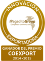 PREMIO A LA INNOVACIÓN EXPORTADORA 2015. The Pagadito Group Complete e-commerce solutions
